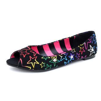 topánky dámske ABBEY DOWN - Starstruck Peep Toe Flat, ABBEY DAWN, Avril Lavigne