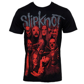 tričko pánske Slipknot - Red Faces, BRAVADO, Slipknot