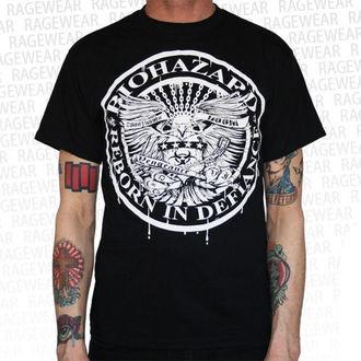 tričko pánske Biohazard - Eagle - Black - RAGEWEAR, RAGEWEAR, Biohazard