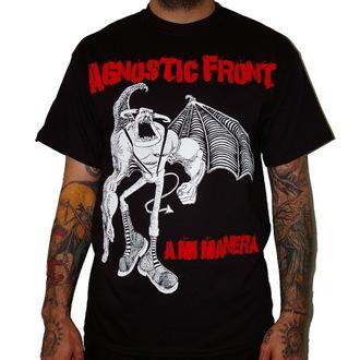 tričko pánske Agnostic Front - A Mi Manera - Black - RAGEWEAR - 001TSS14