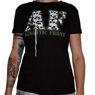 tričko dámske Agnostic Front - Skulls - RAGEWEAR - 001GSS27