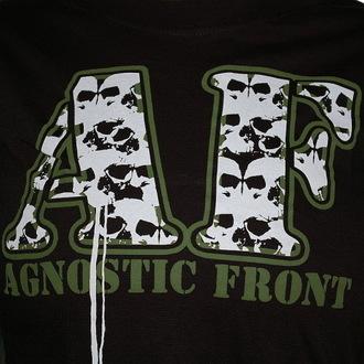 tričko dámske Agnostic Front - Skulls - RAGEWEAR, RAGEWEAR, Agnostic Front