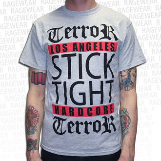 tričko pánske Terror - Los Angeles - Grey - RAGEWEAR, RAGEWEAR, Terror
