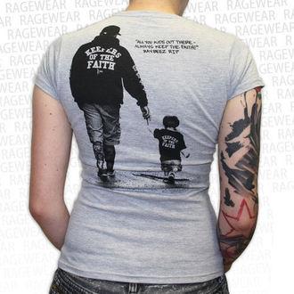 tričko dámske Terror - New Blood - Grey - RAGEWEAR, RAGEWEAR, Terror