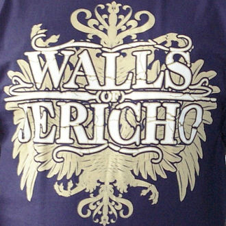 tričko pánske Walls Of Jericho - New Crest - RAGEWEAR, RAGEWEAR, Walls of Jericho