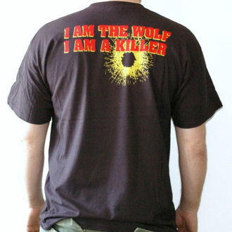 tričko pánske Walls Of Jericho - Wolf - RAGEWEAR, RAGEWEAR, Walls of Jericho