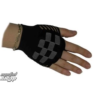 rukavice dámske bezprsté nylonové Kostky 1