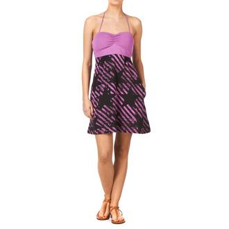 šaty dámske FOX - Stripe Out Dress, FOX