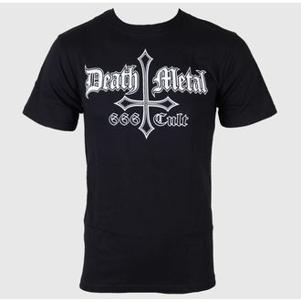 tričko pánske Black Metal - Death Metal 666 Cult - JSR, Just Say Rock