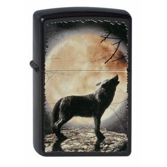 zapaľovač ZIPPO - WOLF HOWLING TO THE MOON, ZIPPO