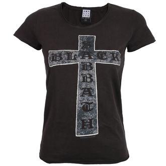 tričko dámske BLACK SABBATH - CROSS - Charcoal - AMPLIFIED, AMPLIFIED, Black Sabbath