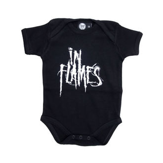 body detské In Flames - Logo - Black, Metal-Kids, In Flames