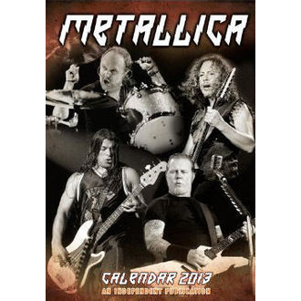 kalendár na rok 2013 Metallica, Metallica