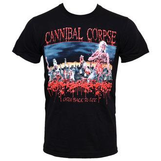 tričko pánske Cannibal Corpse - Eaten Back To Life - PLASTIC HEAD