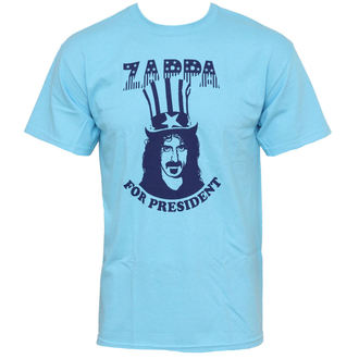 tričko pánske Frank Zappa - Zappa For President - Blue - PLASTIC HEAD, PLASTIC HEAD, Frank Zappa