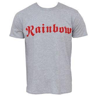tričko pánske Rainbow - Logo - Grey Ringspun - PLASTIC HEAD, PLASTIC HEAD, Rainbow