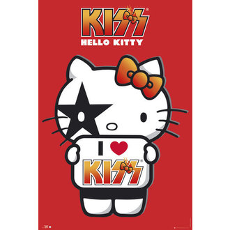 plagát Hello Kitty - Kiss I Love - No Germany - GB Posters, HELLO KITTY, Kiss