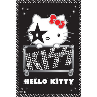 plagát Hello Kitty - Kiss Tour - No Germany - GB Posters, HELLO KITTY, Kiss