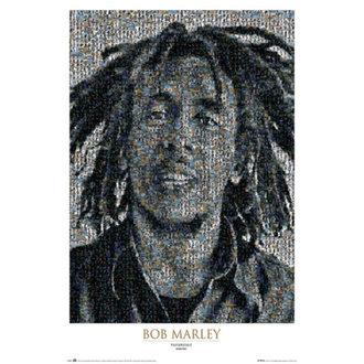 plagát Bob Marley - Mosaic II - GB Posters, GB posters, Bob Marley