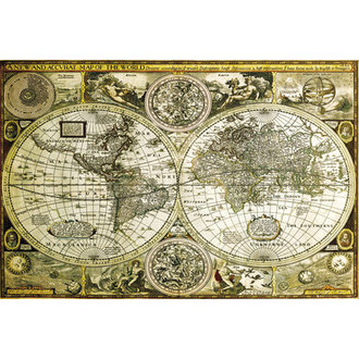 plagát World Map Historical - GB Posters, GB posters