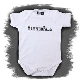 body detské Hammerfall - Logo - White, Metal-Kids, Hammerfall
