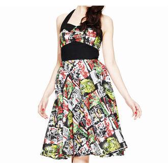 šaty dámske HELL BUNNY - B-Movie 50´s, HELL BUNNY