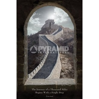 plagát Journey Of A Thousand Miles - Pyramid Posters, PYRAMID POSTERS