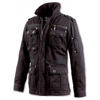 bunda pánska jarno-jesenná BRANDIT - Platinum Vintage - Black, BRANDIT