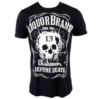 tričko pánske LIQUOR BRAND - Dishonor Before Death, LIQUOR BRAND