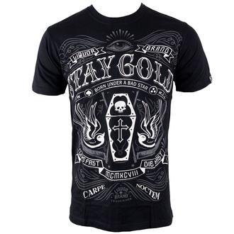 tričko pánske LIQUOR BRAND - Stay Gold, LIQUOR BRAND