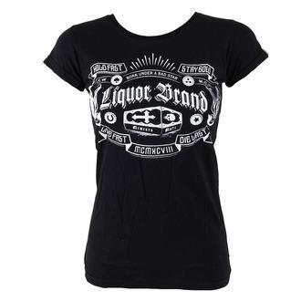 tričko dámske LIQUOR BRAND - Coffin, LIQUOR BRAND