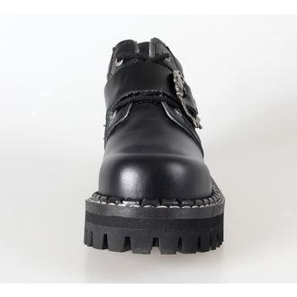 topánky KMM 4dírkové - Big Skulls Black Full