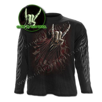 tričko pánske s dlhým rukávom SPIRAL - Rock Salute - TR340700