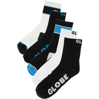 ponožky -set 5 párov- GLOBE - Destroyer - BLK