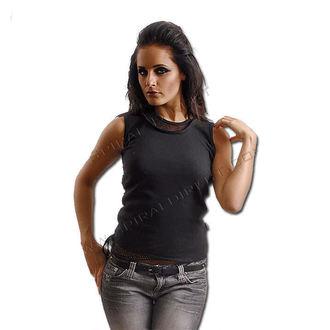 tričko dámske SPIRAL - 2IN1 Meshvest - Blk - PL199