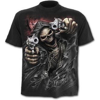 tričko pánske SPIRAL - Assassin - Blk