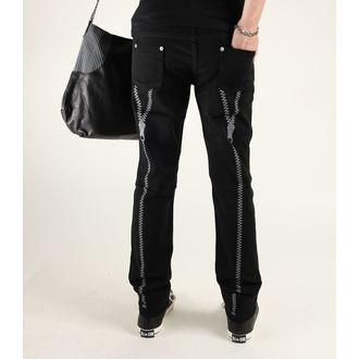 nohavice dámske 3RDAND56th - Zips Back Skinny Jeans, 3RDAND56th