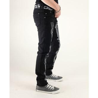 nohavice dámske 3RDAND56th - Steam Punk Skinny Jeans, 3RDAND56th