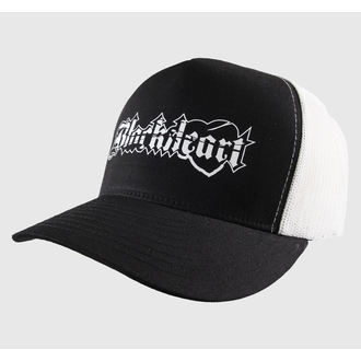 šiltovka BLACK HEART - TRUCKER - Logo, BLACK HEART
