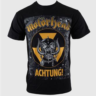 tričko pánske Motörhead - Achtung g- Blk - EMI, ROCK OFF, Motörhead