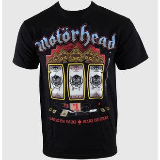 tričko pánske Motörhead - Slots - Blk - EMI, ROCK OFF, Motörhead