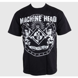 tričko pánske Machine Head - Classic Crest - EMI, ROCK OFF, Machine Head
