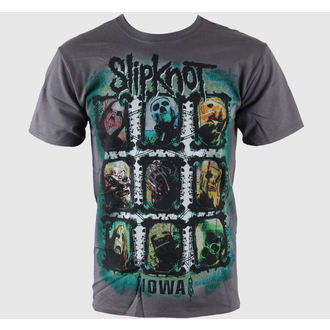 tričko pánske Slipknot - Colors Grid - BRAVADO USA, BRAVADO, Slipknot