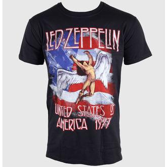 tričko pánske Led Zeppelin- Stars N Stripes - Black, NNM, Led Zeppelin