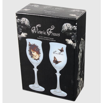 poháre (sada 2 kusov) Victoria Frances - Butterfly U. Butterfly, VICTORIA FRANCES, Victoria Francés