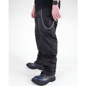 nohavice pánske MIL-TEC - US Feldhose - Black, MIL-TEC