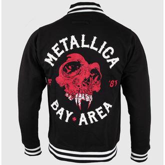 mikina pánska Metallica - Bay Area Skull - Black, NNM, Metallica