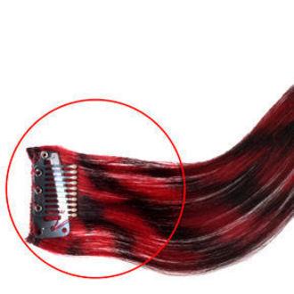 clip (príčesok) na vlasy MANIC PANIC - Synthetic - Electric Lava, MANIC PANIC