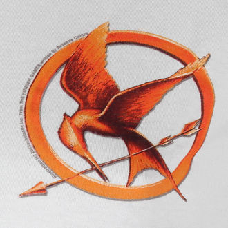 tričko dámske Hunger Games - Mocking Jay Pin - LIVE NATION, LIVE NATION, Hunger Games