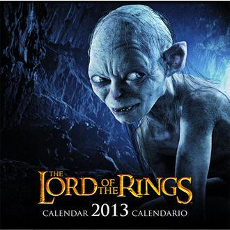 kalendár na rok 2013 Pán prsteňov - English & Spanish Version, NNM, Pán prstenů